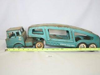 Structo Auto Haul Truck and Trailer  incomplete