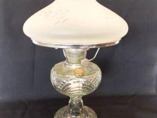 Aladdin lincoln Drape Oil lamp