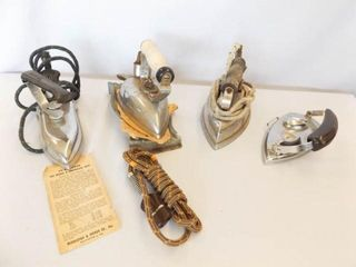 Old Electric Irons  4