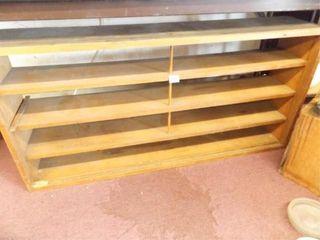 Wood Shelf  4 Shelves  48  x 23  x 10
