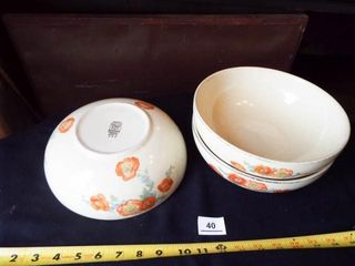 Hall s Ovenware Bowls  Round Bowl