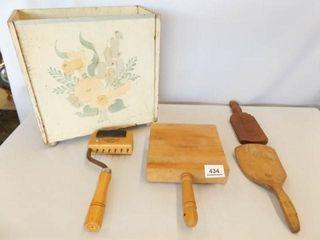 Wood Kitchen Pieces  5