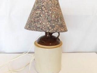 Crock Jug Electric lamp