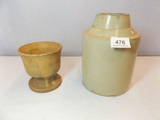 Prater Planter  Stoneware Canning Crock