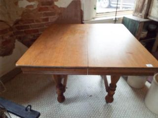 Wooden Dining Table  Square