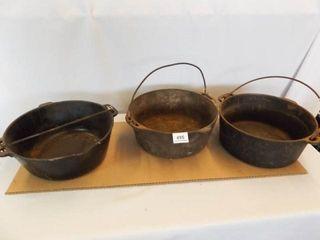 Cast Iron Pots  3