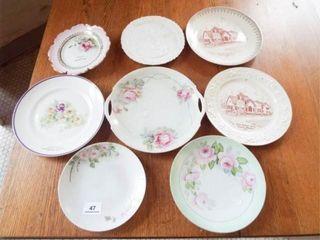 Decorative Plates  8 Souvenir Plates