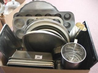 Baking Pans Various Sizes and shapes
