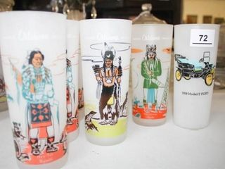 Knox Indian Glasses  6  Plus Model T Frosted