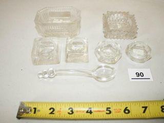 Salts  Salt Spoon  Ashtray  Diamond Marking