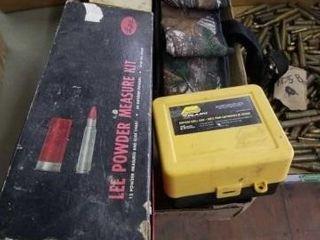 SHOTGUN SHEll CASE  2   lEE POWDER MEASURE KITS