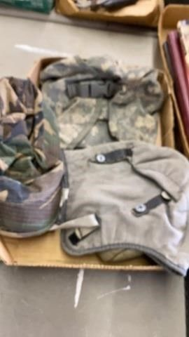 POUCHES   CAP AND CANTEEN COVER