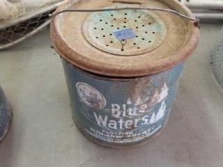 FRABIllS BlUE WATERS FlOATING MINNOW BUCKET