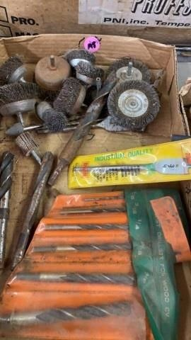 WIRE BRUSHES   GRINDERS DRIll BITS