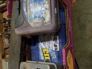 94 PIECE GARAGE TOOl SET   NOT COMPlETE  SANGAMO