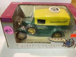 TRUE VAlUE GREEN THUMB MODEl A BANK