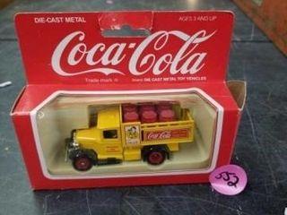 COCA COlA DIE CAST METAl TOY