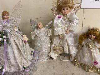 GROUP OF ANGEl DOllS