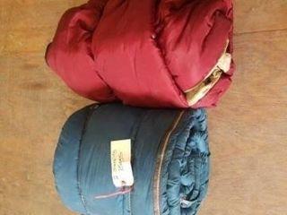 2 SlEEPING BAGS  USED