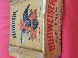 BUDWEISER BOX   17 1 2 X12 X11
