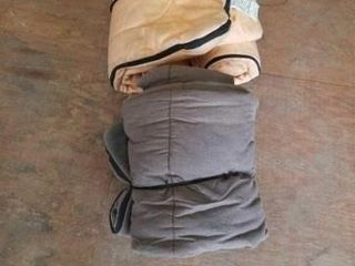 2 SlEEPING BAGS  1 IS A WENZEl AND 1 IS A TRAIl