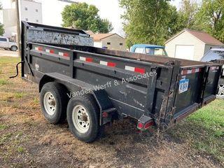 2004 Load-Trail 7?x12? 5th wheel dump trailer