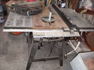 Craftsman 12 in Floor Saw with Stand