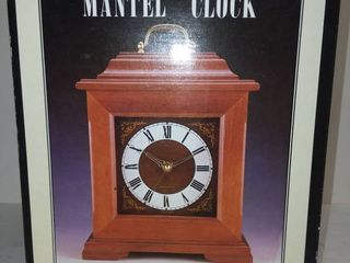 Mantle Clock New In Box