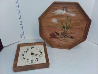 Wooden Framed Clocks