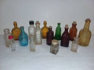 Assorted Miniature Bottles