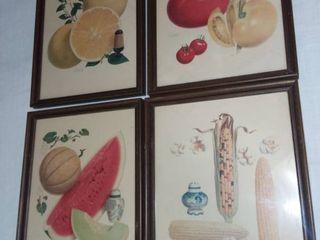 Vintage Carey Salt Prints lot of 4