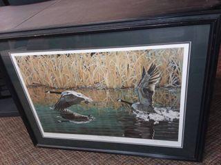 Ducks Unlimited Framed Art by Jean Dunn 29 5 x 40 in