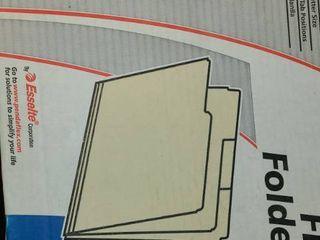 File Folders  2 large Boxes  100   150 ct  per box