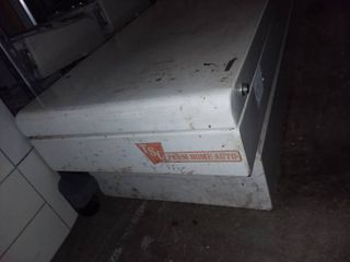 TSC Truck Bed Toolbox 14 5 x 63 bottom x 69 5 top x 20 5 in
