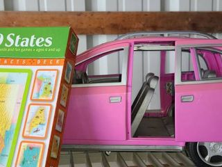 BARBIE Mini Van and 52 FUN FACTS on the 50 States