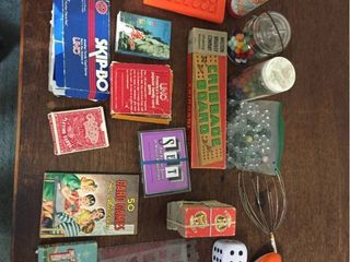 Vintage Games  Card Game sets  Toys    Marbles