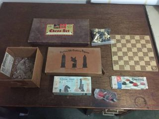 Vintage Chess   Checkers Games