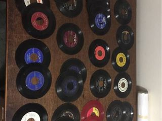Over 30 Vintage 45 Records