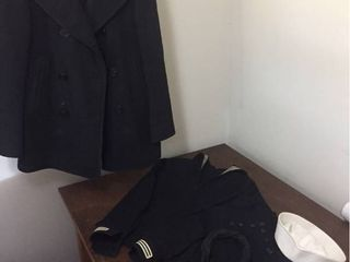 Original Navy Uniform   Peacoat
