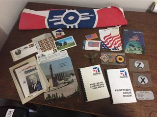 Wichita Flag  Cessna   U S  Flag Memorabilia  President Eisenhower History Collection