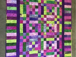 Custom Made 46in x 57in lap Display Quilt