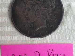 1923D Peace Dollar