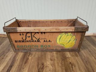 large Wood Alex Kontos Banana Box