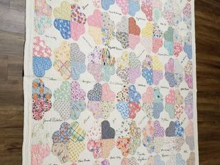Quilt Friendship  1932    68 in  x 82 in