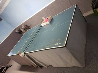 Wheelaway Playback Table Tennis Table with Accessories