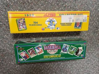 Baseball Cards    2  New Boxes
