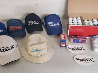 Titleist Golf Hats  Decals and Golf Balls