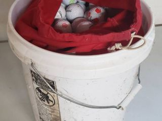 5 Gal  Bucket of Golf Balls