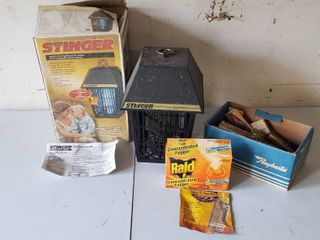 Pest Control Items   Stringer will need new bulb