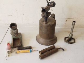 Vintage Torch and Soldering Tools   Brunson Burner